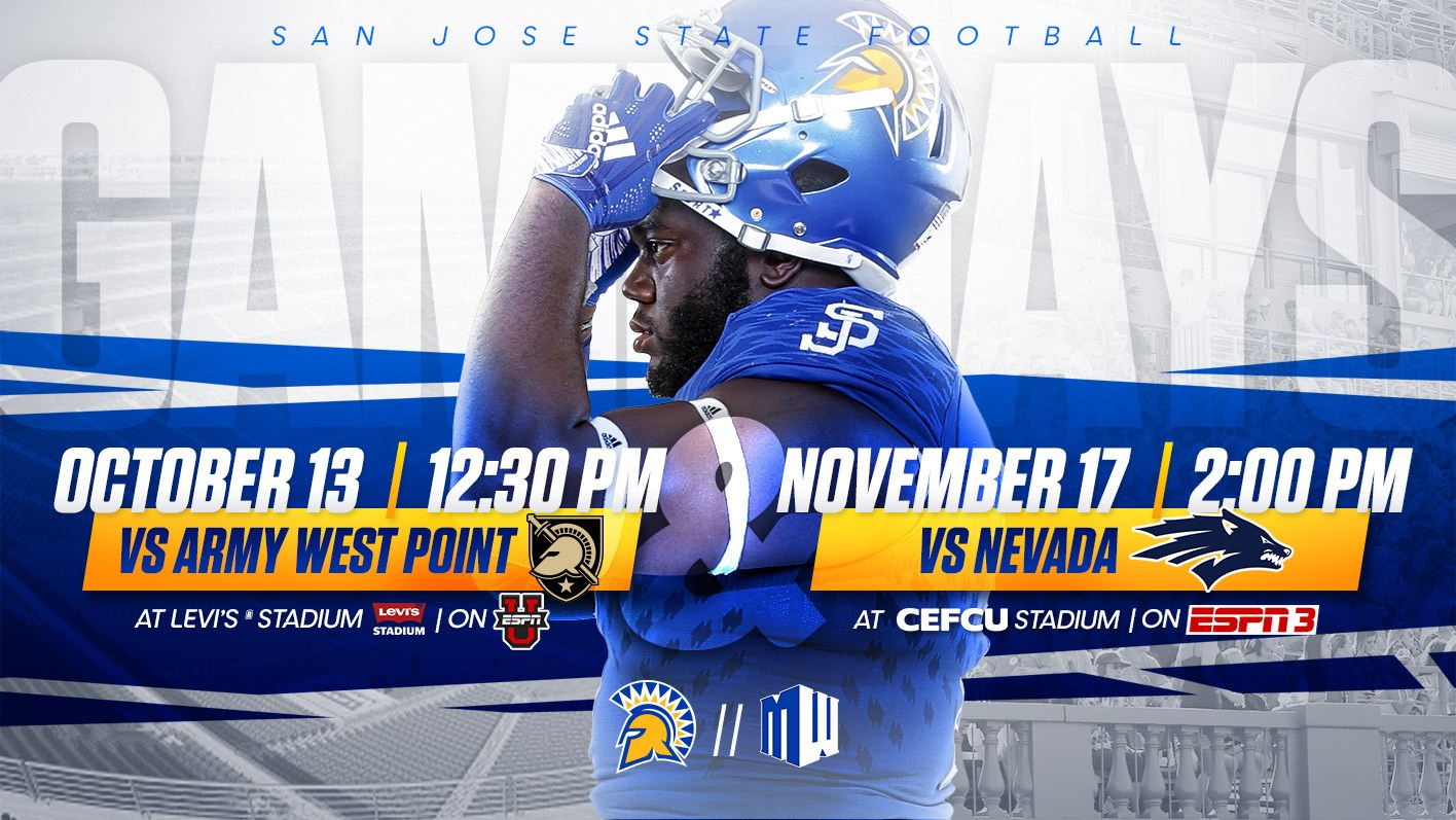 Game Times Announced For Army West Point Nevada Games Sjsu Athletics